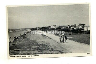 £2.50 • Buy Sussex  Chichester : East Wittering Cliff Path & Bungalows 1957 Pc Coney Road
