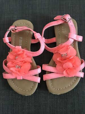 £0.99 • Buy Girls Pink Sandals Shoes Size C 7