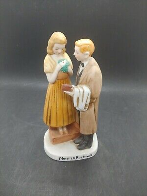 $ CDN43.75 • Buy Norman Rockwell 1980 Select Collection Limited Sweethearts Figurine!!