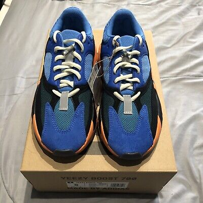 $ CDN385.86 • Buy Adidas Yeezy Boost 700 Bright Blue Size 5 Mens GZ0541 AUTHENTIC DEADSTOCK