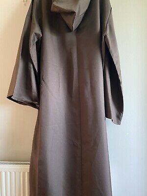 £1.99 • Buy Medieval Hooded Tunic Brown Fancy Dress 2XL