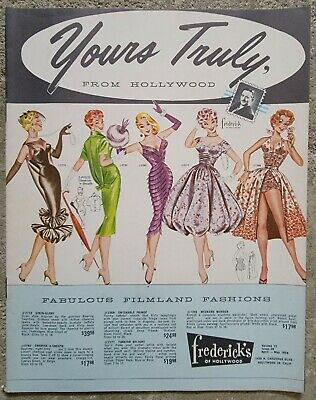 $69.95 • Buy C1958 FREDERICKS Of HOLLYWOOD Yours Truly CATALOG RETRO VTG RISQUE LINGERIE