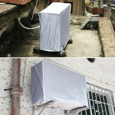 AU10.59 • Buy Outdoor Air Conditioner Cover Protector Anti-Dust Anti-Snow Sunproof Waterproof.