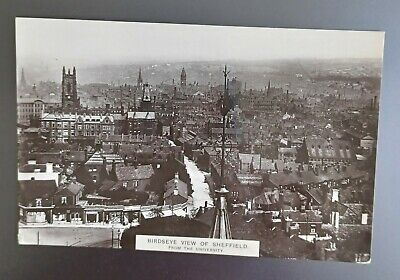 £0.99 • Buy Sheffield, South Yorkshire. Black And White Postcard.