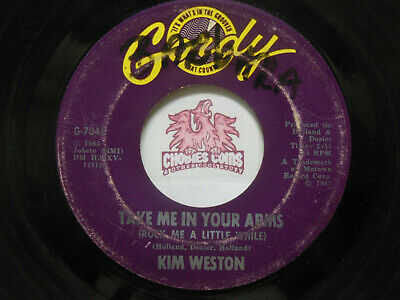 £5.08 • Buy Kim Weston: Don't Compare Me With Her / Take Me In Your Arms, 45 RPM Fair (T1)
