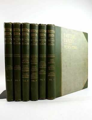 £199.40 • Buy  BRITISH BIRDS WITH THEIR NESTS AND EGGS IN SIX VOLUMES - Butler, Arthur G. Ill