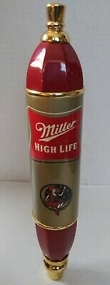 $50 • Buy Vintage Miller High Life  Girl On The Moon  Beer Tap Handle. Red 11 1/2 Inches.