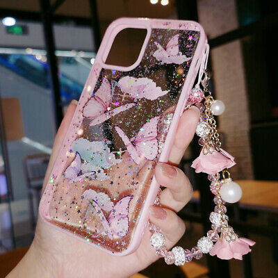 AU13.20 • Buy For IPhone 12 Pro Max 11 XR XS 6 7 8 Bling Glitter Cute Case Girls Phone Cover