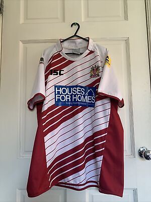 £10 • Buy Wigan Warriors 2014 ISC Home Shirt XXL (2XL) Used Rugby League