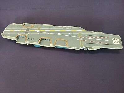 """$59.99 • Buy Vintage 1998 Galoob MICRO MACHINES MILITARY AIRCRAFT CARRIER 30"""" Playset Figure"""