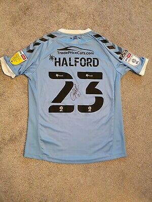 £31 • Buy Southend United Signed Greg Halford Away Shirt 2020-21