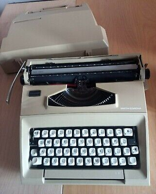 £20 • Buy Smith-Corona Courier Manual Typewriter With Carry Case - C/w New Ribbon & Spare