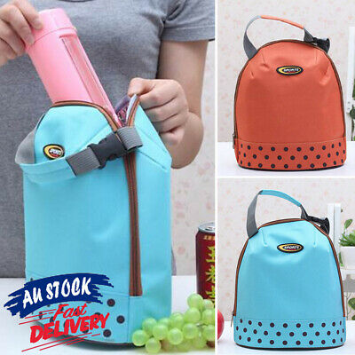 AU10.55 • Buy Lunch Bottle Box Storage Bag Picnic Case Tote Portable Insulated Thermal Cooler