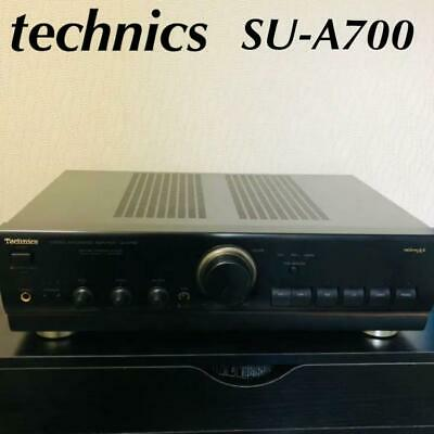 £228.87 • Buy Technics SU-A700 Black MOS Class AA Integrated Amplifier Used Working Vintage