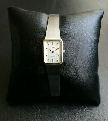 £2.50 • Buy PULSAR BY SEIKO TINY FACE LADIES QUARTZ WATCH (1980's VINTAGE COLLECTABLE )