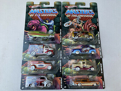 $10.50 • Buy 2011 Hot Wheels MASTERS Of The UNIVERSE Complete 8 Car Set Pop Culture