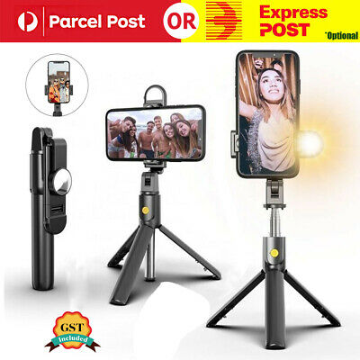 AU18.53 • Buy 4 In 1 Selfie Stick Bluetooth Tripod With LED Light For Iphone /Samsung