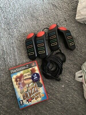 £5 • Buy Buzz Ps2 Controllers With Music Quiz Game