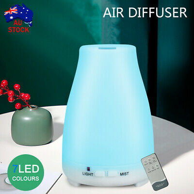 AU17.39 • Buy Essential Oil Humidifier Ultrasonic Air Diffuser Aroma Aromatherapy Air Purifier