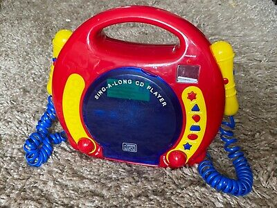 £9.99 • Buy Sing Along CD Player With Two Microphones - Chad Valley