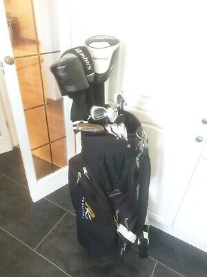 AU491 • Buy Superb Set Of Mens Cleveland Ta3 & Benross Max Speed 2 Golf Clubs, Right Handed