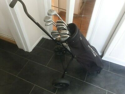 AU113.31 • Buy Full Set Of Mens Petron And Tour Model Golf Clubs, Right Handed, Plus Trolley