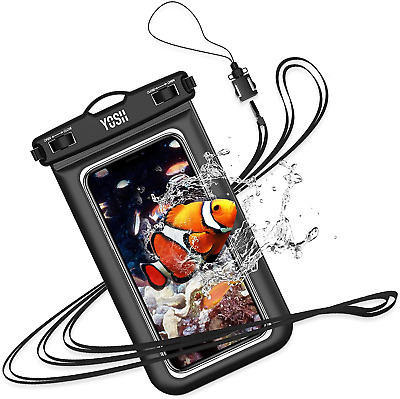 £8.98 • Buy YOSH IPX8 Waterproof Phone Case, Underwater Phone Pouch Dry Bag With Lanyard For