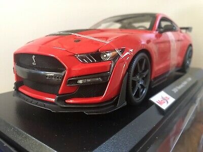 $35 • Buy 2020 FORD MUSTANG SHELBY GT500 - Red 1/18 Maisto Special Edition - New
