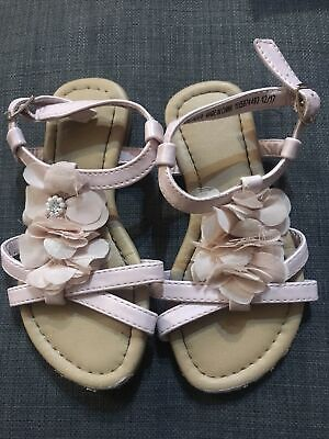 £0.99 • Buy Girls Rose Sandals Shoes Size C 8