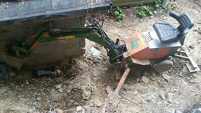 £2500 • Buy Powerfab 125 Mini Digger With New Electric Start Engine And 2 Buckets