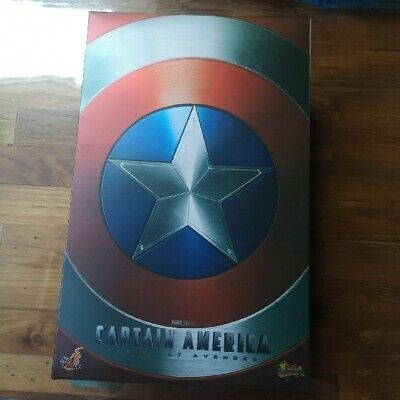 $ CDN484.18 • Buy The First Avenger Movie Masterpiece Captain America With 2 Shields Hot Toys JPN