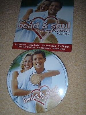 £1.90 • Buy Promotional CD Heart And Soul. A Valentine's Collection. Volume 2 Sunday Express