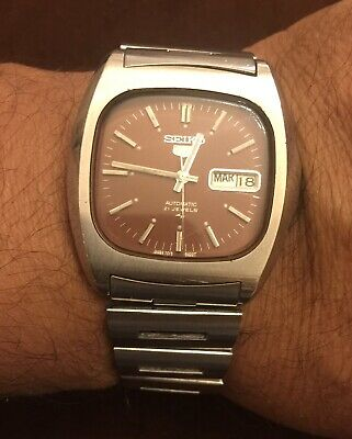 $ CDN150.47 • Buy VINTAGE Rare Seiko Baby Monaco 7019-5000 Automatic Watch Made In Japan For Parts