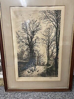 £400 • Buy Fred Slocombe Signed Etching