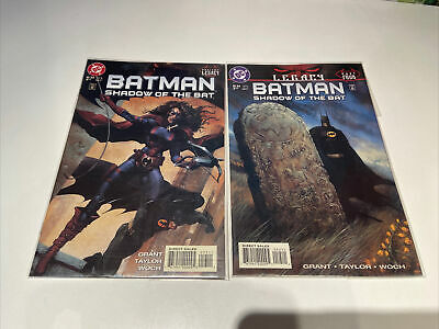£2.55 • Buy Batman Shadow Of The Bat 53 & 54, 1996 Legacy Prelude And Part 4, Bagged
