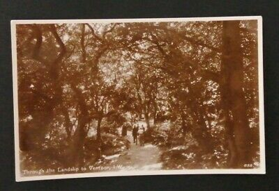£1.90 • Buy Through The Landslip To Ventnor, Isle Of Wight Postcard