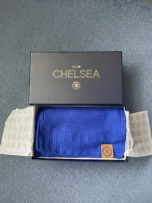 £19.99 • Buy Chelsea Football Club Executive Scarf Blue Boxed Brand New