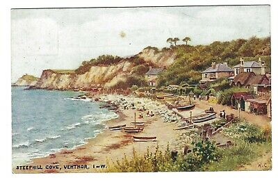 £2.99 • Buy J Salmon Isle Of Wight Card 4096. Ventnor, Steephill Cove   W Carruthers..