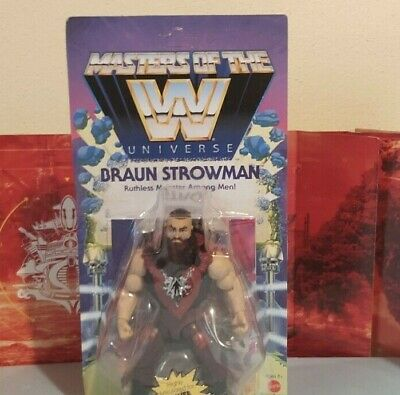 $20.50 • Buy WWE Masters Of The Universe Braun Strowman Wave 3