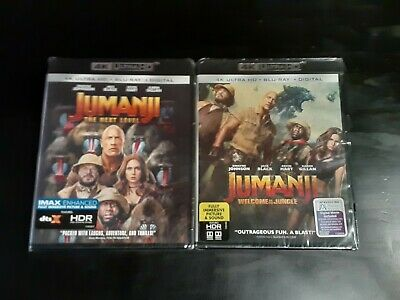 AU5.42 • Buy Jumanji Welcome To The Jungle, The Next Level Lot D4