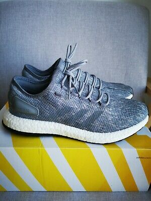 AU59 • Buy Adidas Pure Boost Grey White Men's Shoes Sneakers Size 12