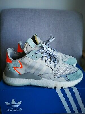 AU54 • Buy Adidas Boost Nite Jogger White Grey Men's Shoes Sneakers Size 11.5