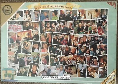 £5.99 • Buy Coronation Street Falcon Jigsaw 1000 Pieces Deluxe Double Sided Sealed Puzzle