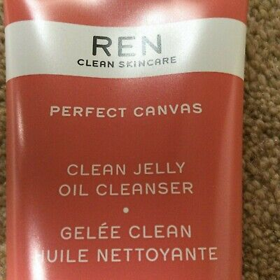 £5.70 • Buy REN Perfect Canvas Clean Jelly Oil Cleanser. Removes Makeup, SPF And Pollution