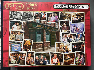 £1.20 • Buy Falcon De Luxe Coronation Street Life At The Rovers 1000 Piece Jigsaw Puzzle
