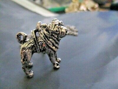 £2 • Buy Small Metal Pug Necklace  New