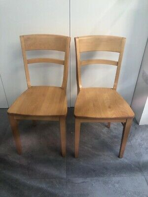 £100 • Buy Solid Beech Dining Chairs - 6