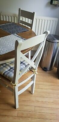 £125 • Buy Dinning Table And Chairs 4 Solid Wood