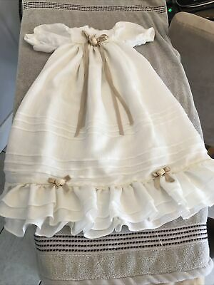 £5 • Buy Baby Girl Christening Gown.0-3 Months