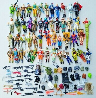 $ CDN261.22 • Buy Vintage GI Joe Lot Of 50 Figures & Tons Of Accessories Late 80's Early 90's